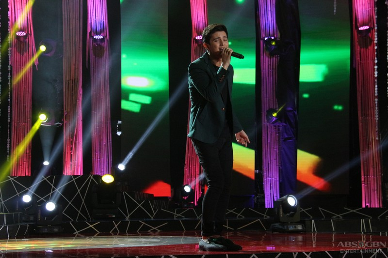 PHOTOS: James Reid performs on I Love OPM stage